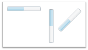 Silverlightで配置方向を設定する例