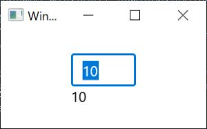 XAMLによる値の取得